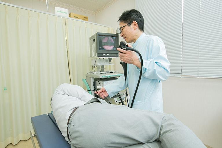 経鼻内視鏡(胃カメラ)による胃の検査