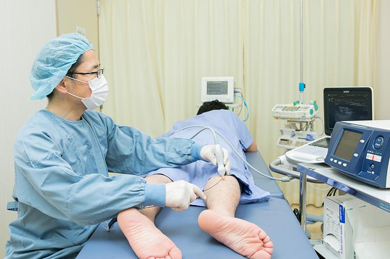 下肢静脈瘤の手術で心がけていること